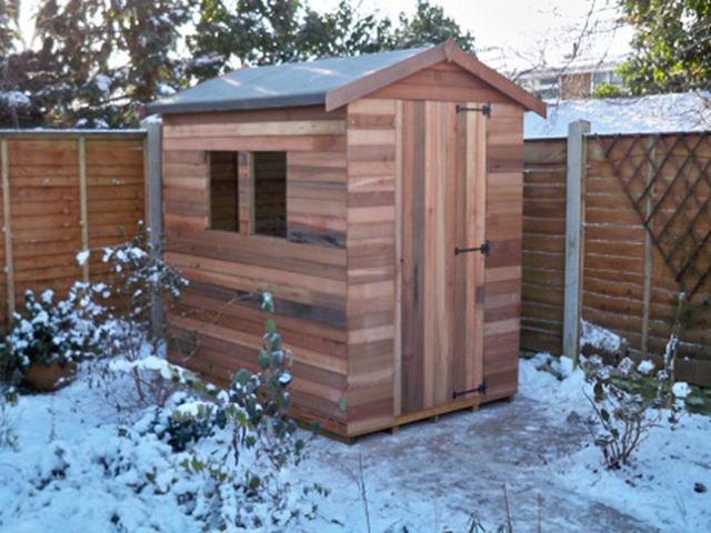 Cedarwood sheds 10ft x 10ft upto 10ft x 18ft