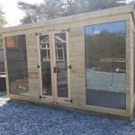 glazed window summerhouse