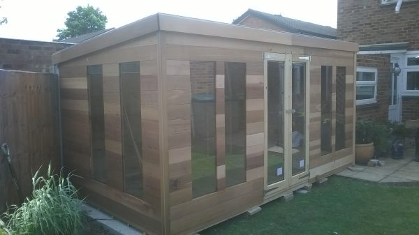 Pent Cedar Summer Room