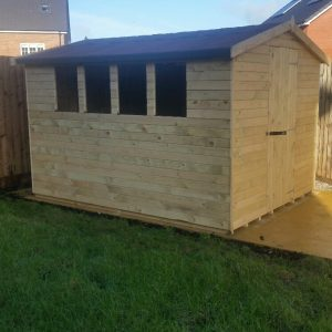 Apex Garden Shed Liverpool